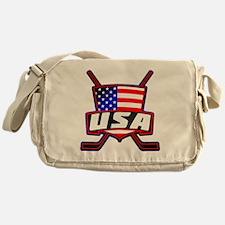American Hockey Shield Logo Messenger Bag