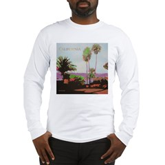 La Jolla Cove Palms Long Sleeve T-Shirt