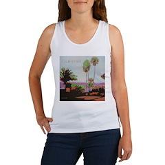 La Jolla Cove Palms Women's Tank Top