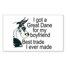 C H BF Trade Rectangle Decal
