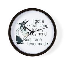 C H BF Trade Wall Clock