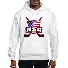 American Hockey Shield Logo Hoodie