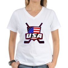 American Hockey Shield Logo T-Shirt