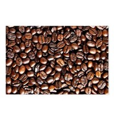 Multiple Coffee Beans  Postcards (Package of 8)