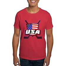 American Hockey Shield Logo T-Shirt