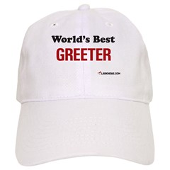 World's Best Greeter Baseball Cap