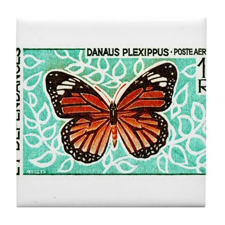 1968 New Caledonia Monarch Butterfly Postage Stamp