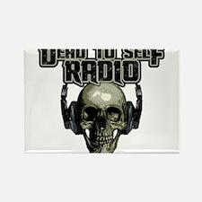 Dead To Self Radio Logo Rectangle Magnet