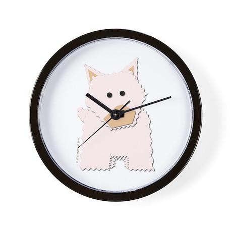 Westie! Wall Clock