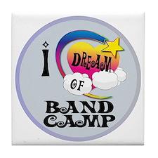 I Dream of Band Camp Tile Coaster