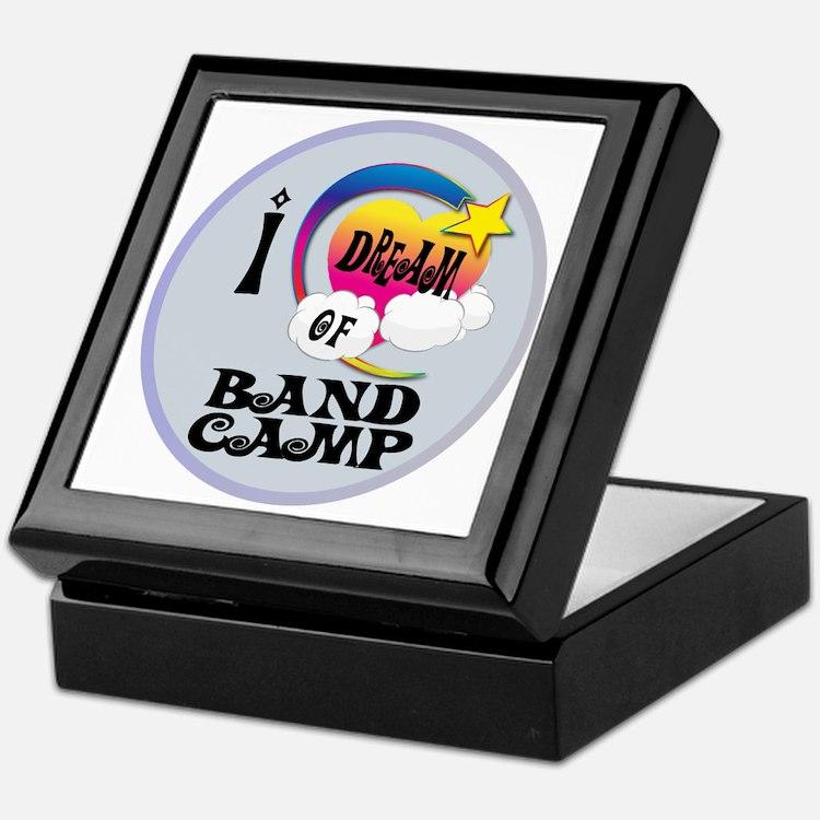 I Dream of Band Camp Keepsake Box