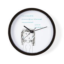 Jeanne Crain Wall Clock