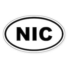 Nicaragua NIC Decal