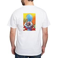 SPHYNX IN TOILET cafepress T-Shirt