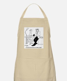 It's an Old Football Injury Apron