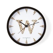 Tortoise Shell w Wall Clock
