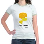 I Love Cheeses Jr. Ringer T-Shirt