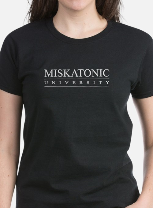 Miskatonic University Women's T-Shirt (Black)