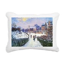 Boulevard Saint Denis Ar Rectangular Canvas Pillow
