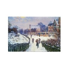 Boulevard Saint Denis Argenteuil  Rectangle Magnet
