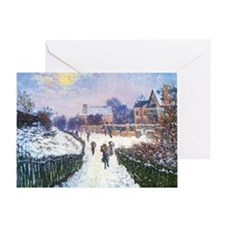 Boulevard Saint Denis Argenteuil by  Greeting Card