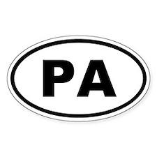 Panama PA Decal