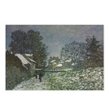 Snow at Argenteuil II by  Postcards (Package of 8)