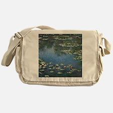 Waterlilies by Claude Monet Messenger Bag