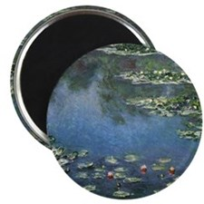 Waterlilies by Claude Monet Magnet