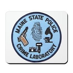 Maine State Police C.S.I. Mousepad
