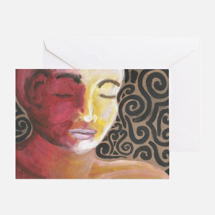 Meditative Contemplation #2 Greeting Card