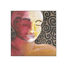 """Meditative Contemplation #2 Square Sticker 3"""" x 3"""""""