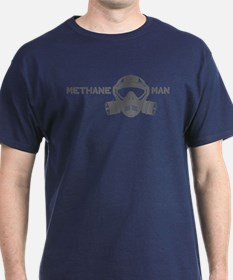 Dark Methane Man-Grey T-Shirt