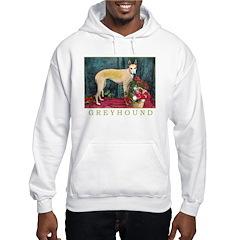 Greyhound Christmas Kaityln Hoodie