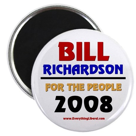 "Bill Richardson 2008 2.25"" Magnet (100 pack)"
