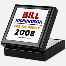 Bill Richardson 2008 Keepsake Box