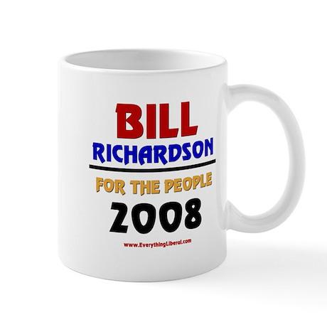 Bill Richardson 2008 Mug