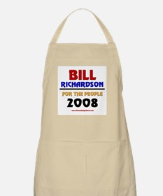 Bill Richardson 2008 BBQ Apron