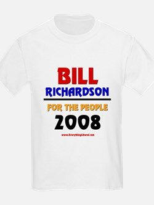 Bill Richardson 2008 Kids T-Shirt