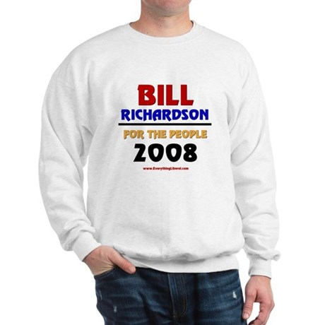 Bill Richardson 2008 Sweatshirt
