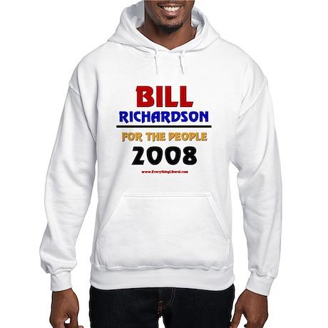 Bill Richardson 2008 Hooded Sweatshirt