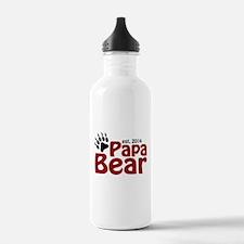 Papa Bear New Dad 2014 Water Bottle