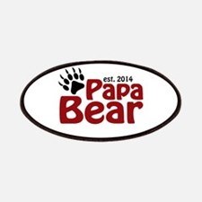 Papa Bear New Dad 2014 Patches