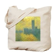 Houses of Parliament by Claude Monet Tote Bag