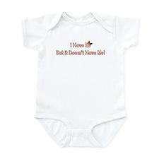 Infant Bodysuit - I Have EB...