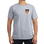 110th FW Men's Fitted T-Shirt (dark)