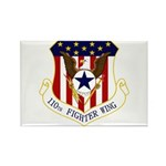 110th FW Rectangle Magnet (100 pack)