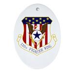 110th FW Ornament (Oval)