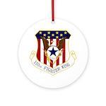 110th FW Ornament (Round)