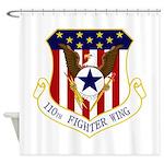 110th FW Shower Curtain